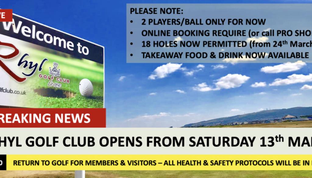Golf Returns