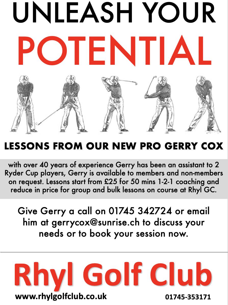 Gerry Cox (RGC Pro) poster